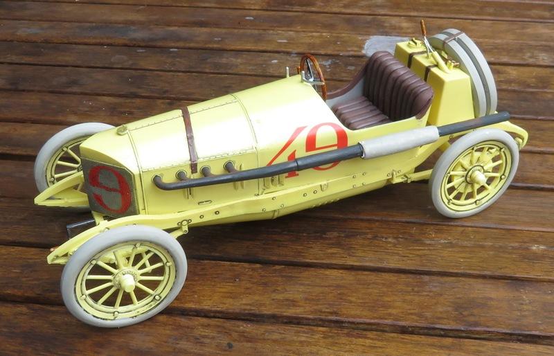 Mercedes Racer 1914  [Lindberg 1/16] Img_3321