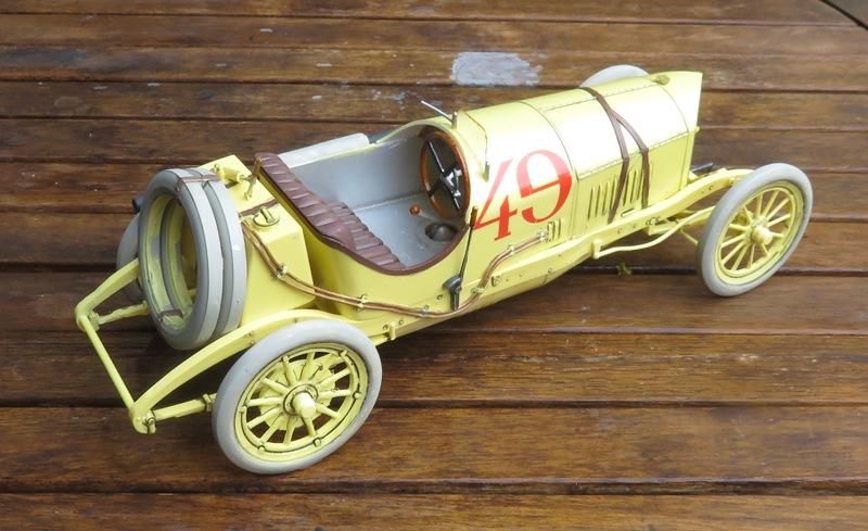 Mercedes Racer 1914  [Lindberg 1/16] Img_3323