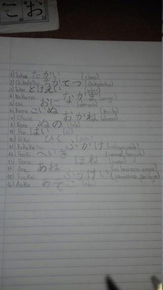 *CLASE 9* Hiragana filas T, N y H (Puedes ganar PS) 15512315