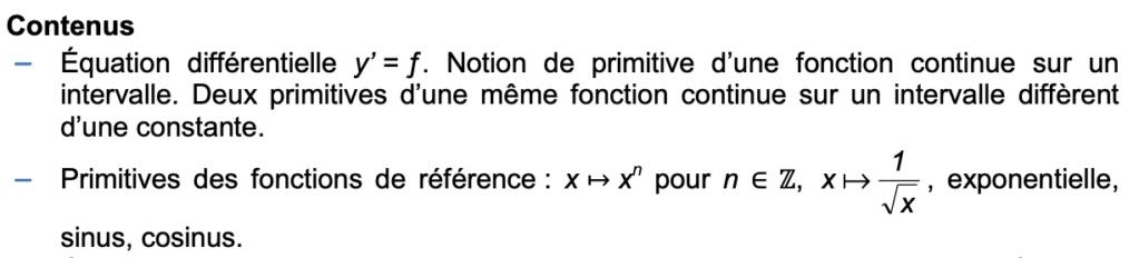 Spé maths terminale - Allègements de programme (Bac) Captur30