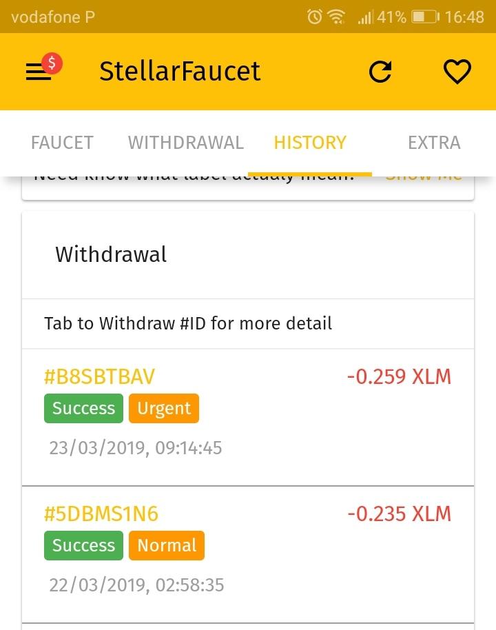 Oportunidade (Testar) Dogefaucet e Stellarfaucet - apps que pagam em menos de 5 minutos  Img_2026