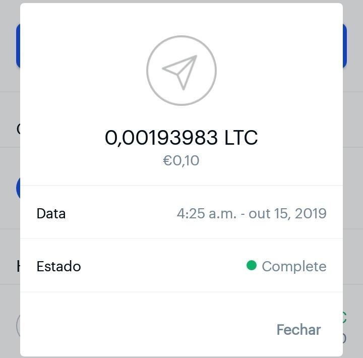 Oportunidade [Provado] - Free Litecoin - app igual à FreeBitcoinCash Img_2058