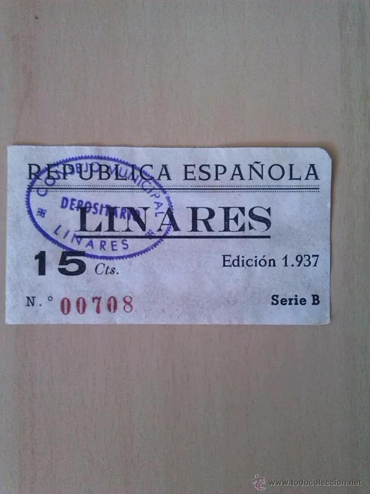 25 Céntimos Linares, 1937 15_cts10