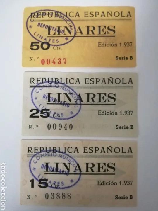 25 Céntimos Linares, 1937 18180010