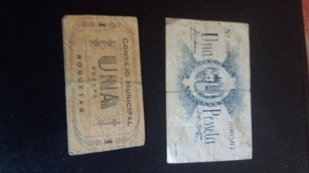 duda billetes de peseta roquetes-roquetas 20190414
