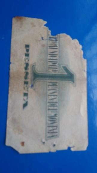 1 Peseta de Les Planes del Montsia, 1937 20190516