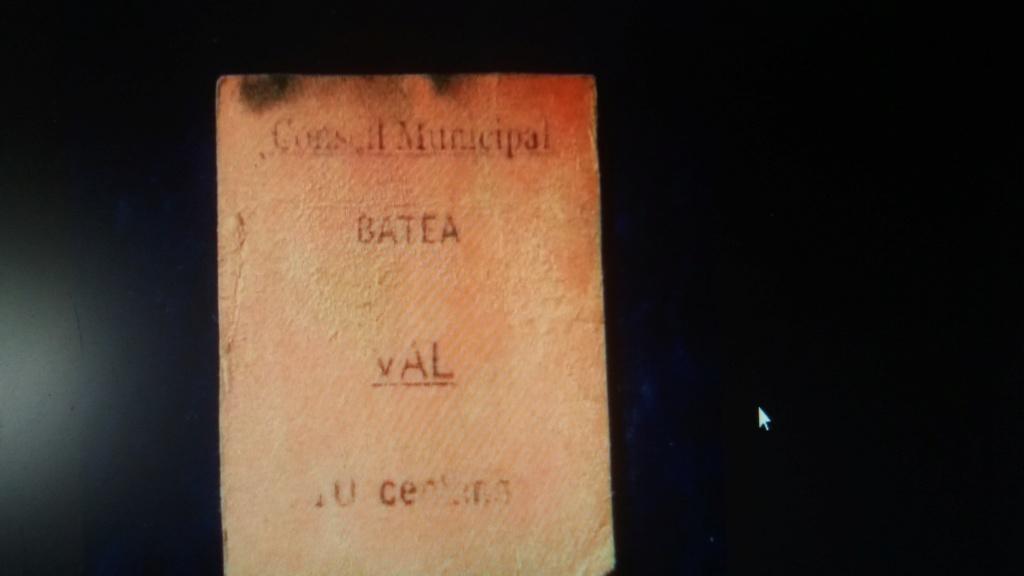 Duda posible billete 10 Céntimos Batea 20190517