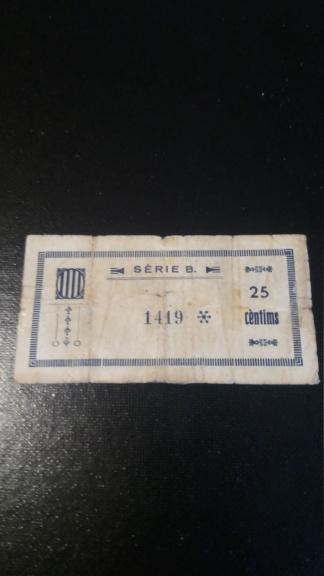 25 Céntimos Ginestar d'Ebre, 1937 20190528