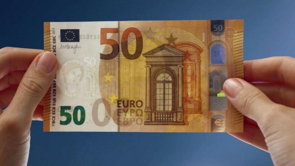 Billete de 50 euros por 20 5010