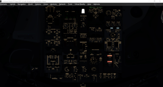Iluminação do Overhead ruim - 737NGX Pmdg Overhe10