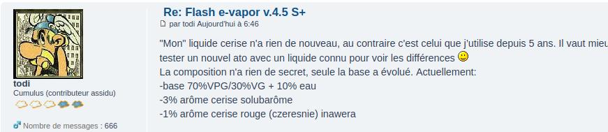 Flash e-vapor v.4.5 S+ Captur11