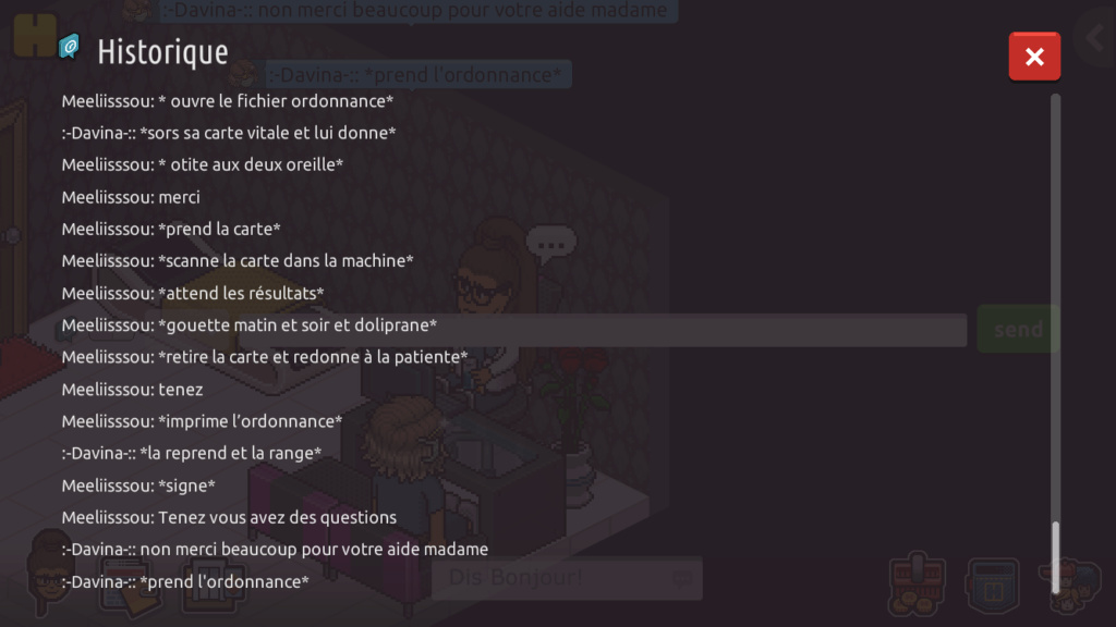 [C.H.U] Rapports de RP de Meeliisssou  7e3d2110