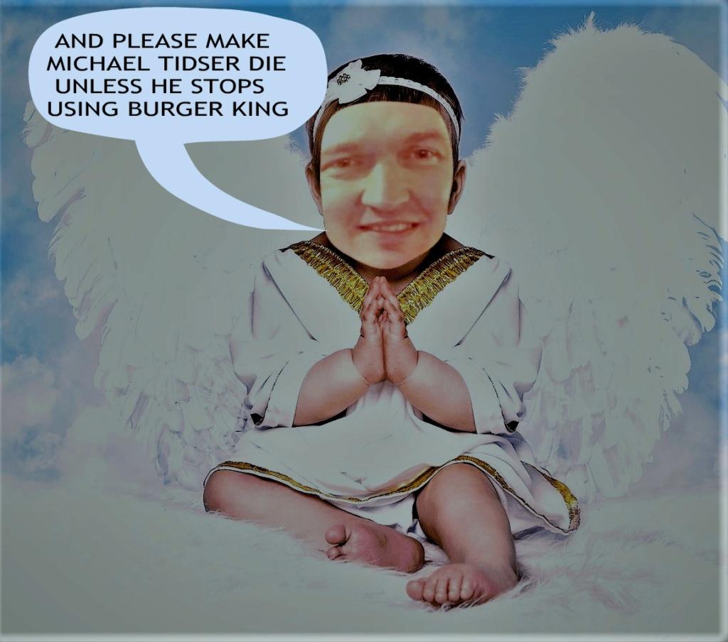 PRAYER OF A LITTLE ANGEL. Facech10