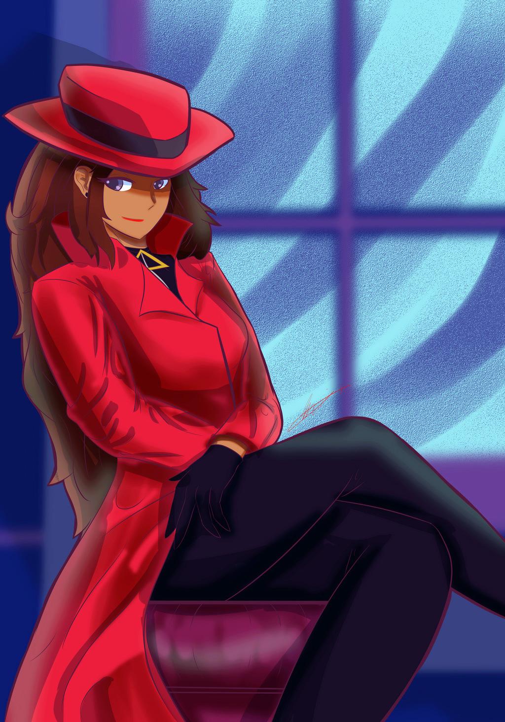 Carmen sandiego Fanart10