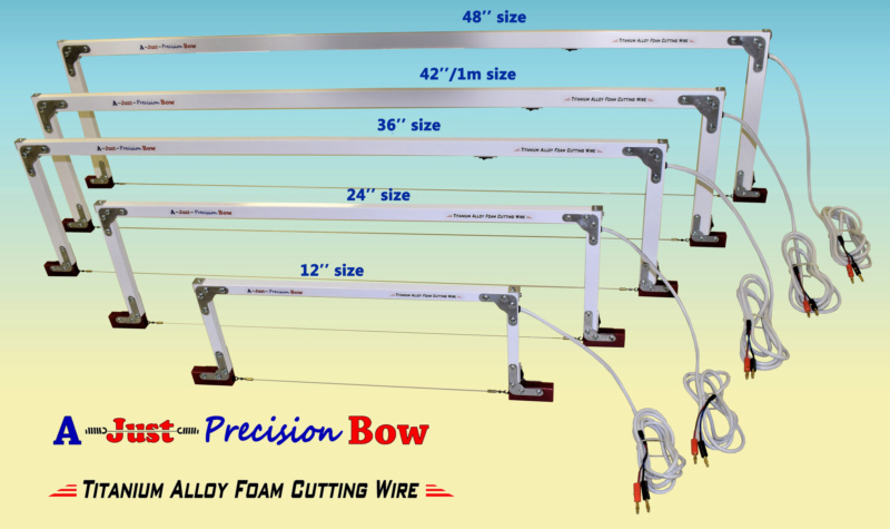 New line of foam cutting bows 210