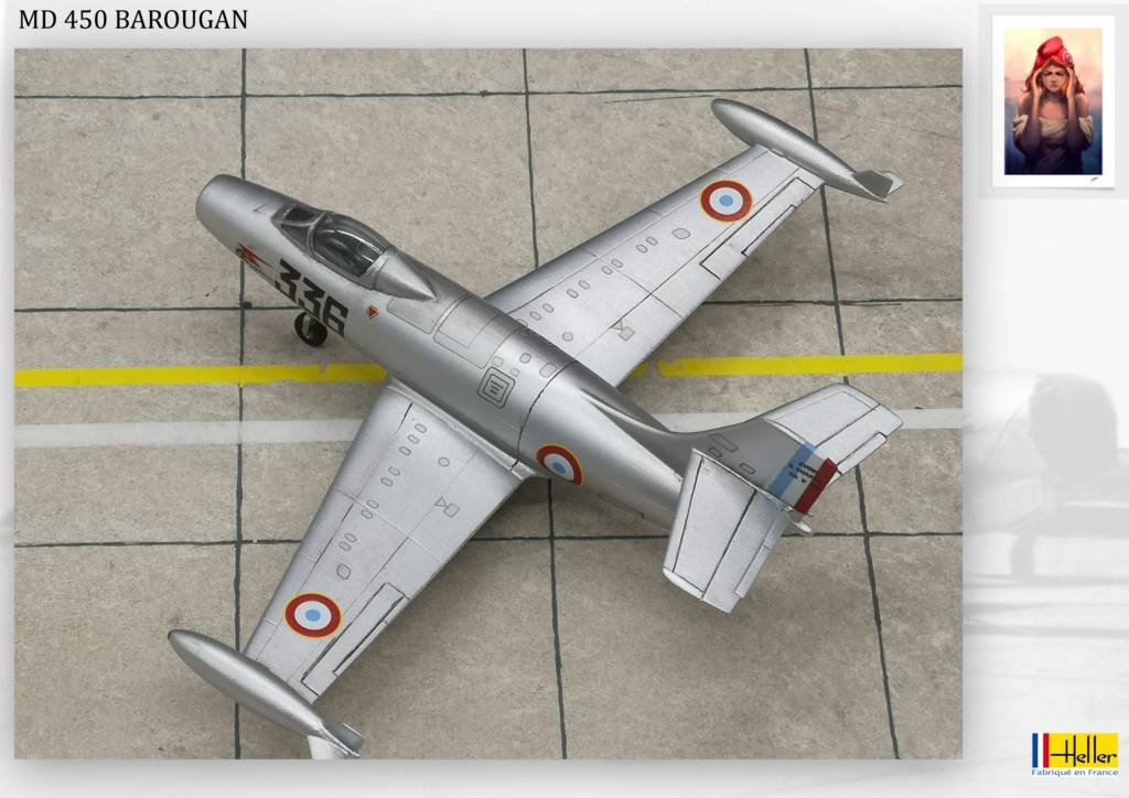 DASSAULT MD450 OURAGAN - CONVERSION BAROUGAN - 1/72  - Page 2 000210