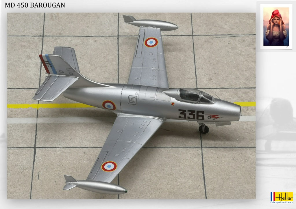 DASSAULT MD450 OURAGAN - CONVERSION BAROUGAN - 1/72  - Page 2 000310