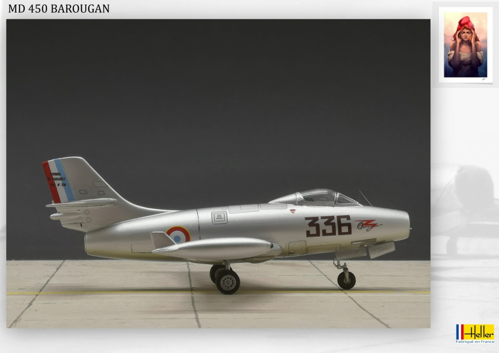 DASSAULT MD450 OURAGAN - CONVERSION BAROUGAN - 1/72  - Page 2 000410