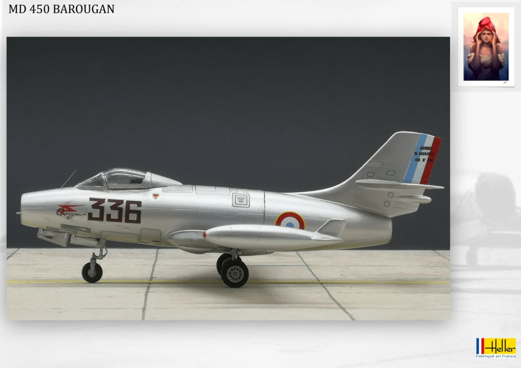 DASSAULT MD450 OURAGAN - CONVERSION BAROUGAN - 1/72  - Page 2 000510