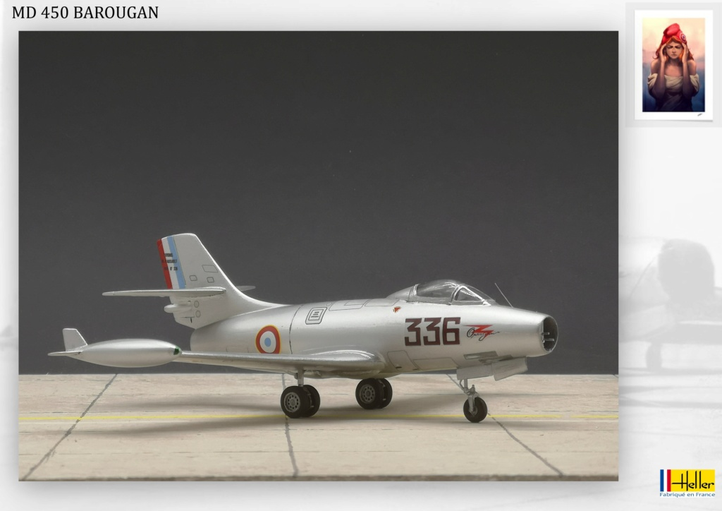 DASSAULT MD450 OURAGAN - CONVERSION BAROUGAN - 1/72  - Page 2 000610