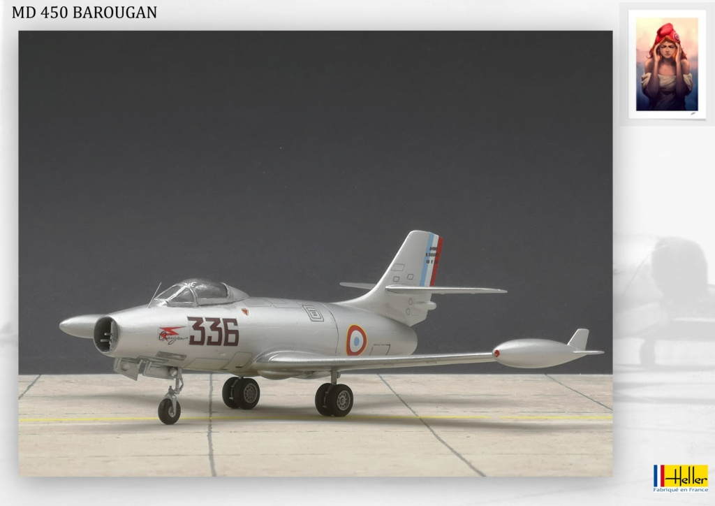 DASSAULT MD450 OURAGAN - CONVERSION BAROUGAN - 1/72  - Page 2 000710