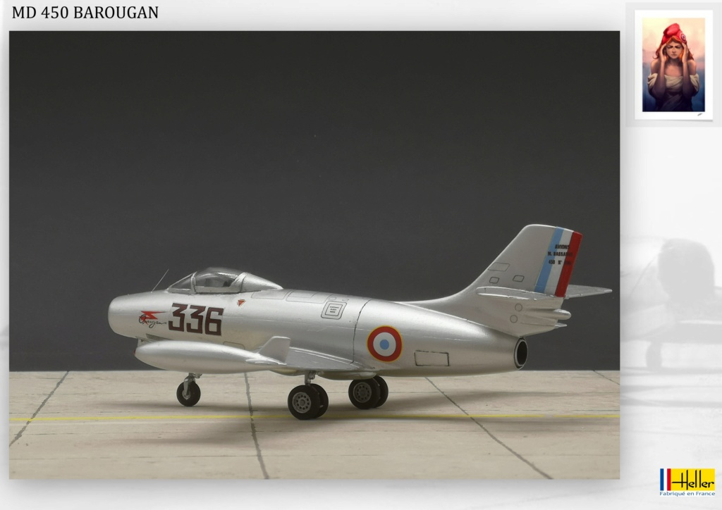 DASSAULT MD450 OURAGAN - CONVERSION BAROUGAN - 1/72  - Page 2 000910