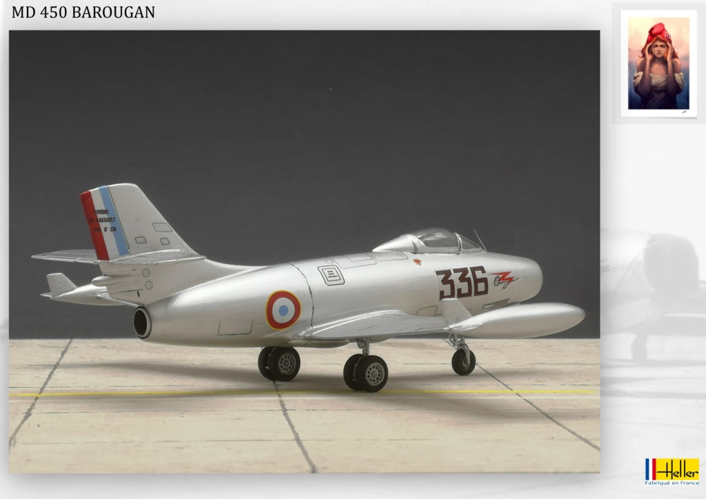 DASSAULT MD450 OURAGAN - CONVERSION BAROUGAN - 1/72  - Page 2 001010
