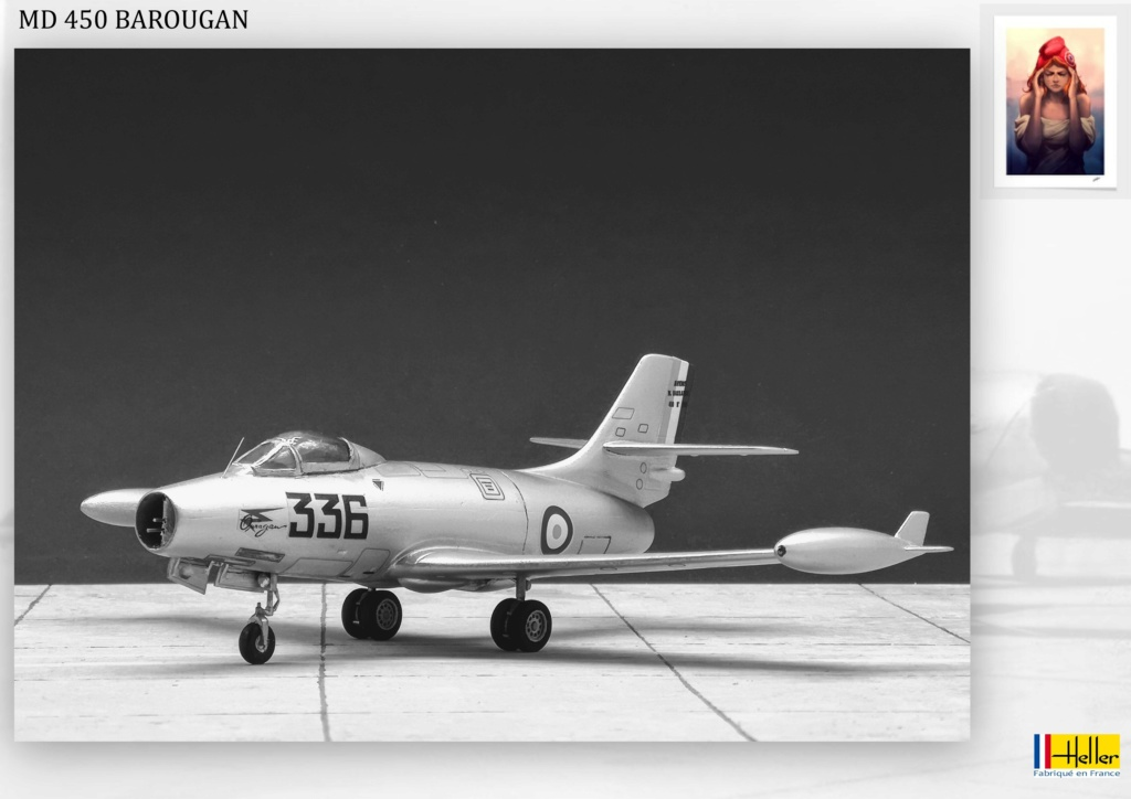 DASSAULT MD450 OURAGAN - CONVERSION BAROUGAN - 1/72  - Page 2 001110