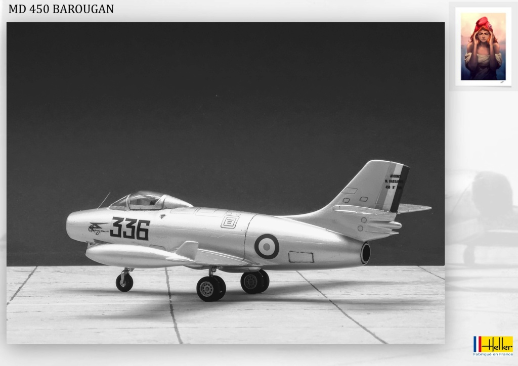 DASSAULT MD450 OURAGAN - CONVERSION BAROUGAN - 1/72  - Page 2 001210