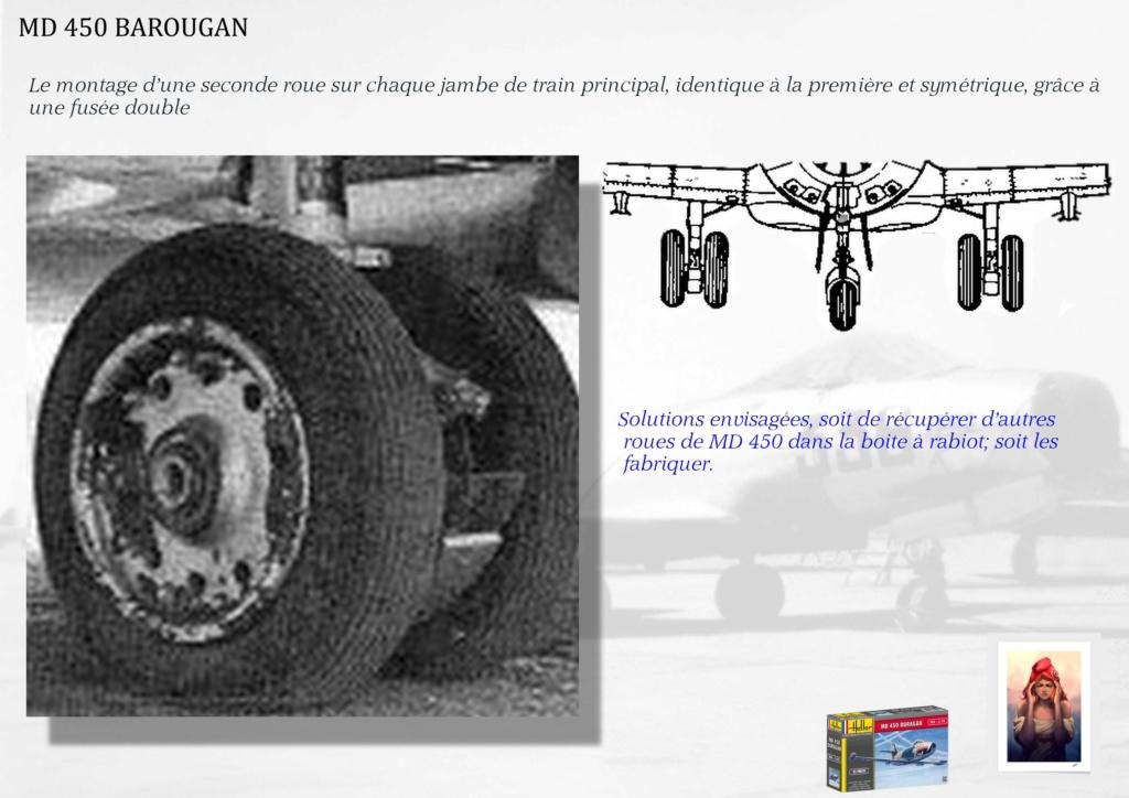 DASSAULT MD450 OURAGAN - CONVERSION BAROUGAN - 1/72  00410