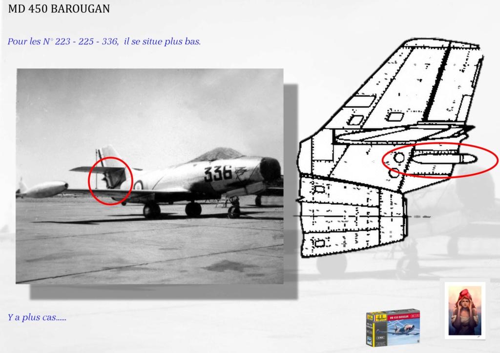 DASSAULT MD450 OURAGAN - CONVERSION BAROUGAN - 1/72  00910