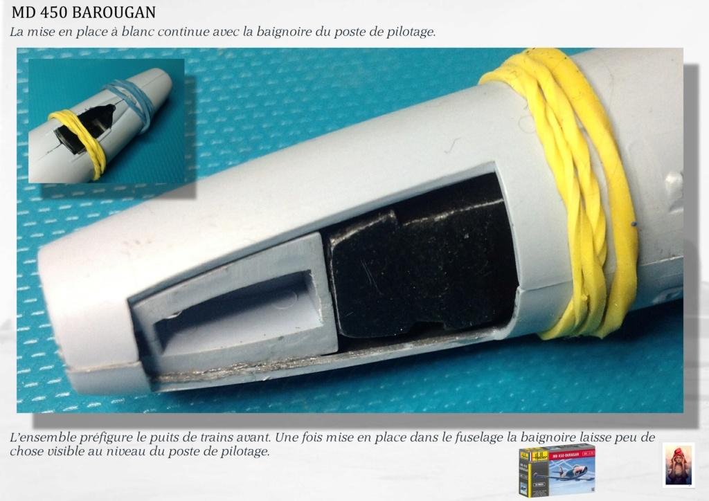DASSAULT MD450 OURAGAN - CONVERSION BAROUGAN - 1/72  01210