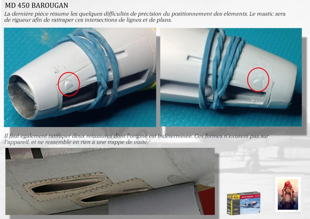 DASSAULT MD450 OURAGAN - CONVERSION BAROUGAN - 1/72  01310