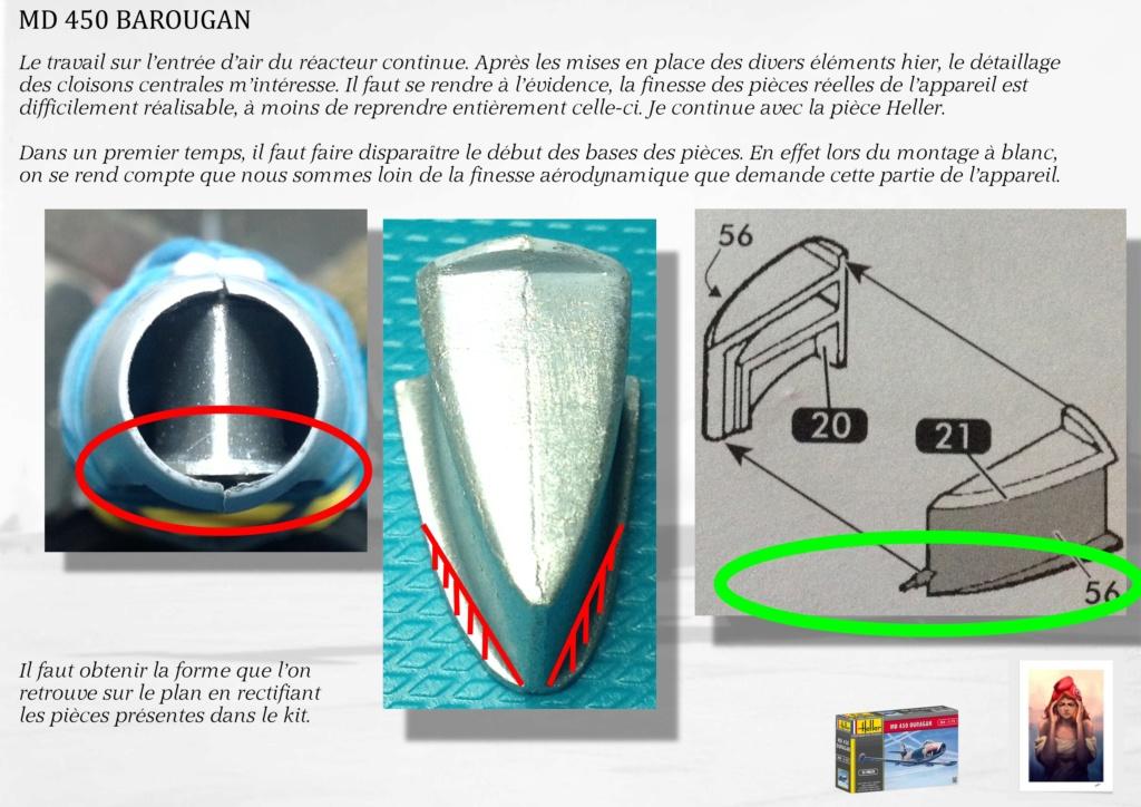 DASSAULT MD450 OURAGAN - CONVERSION BAROUGAN - 1/72  01410