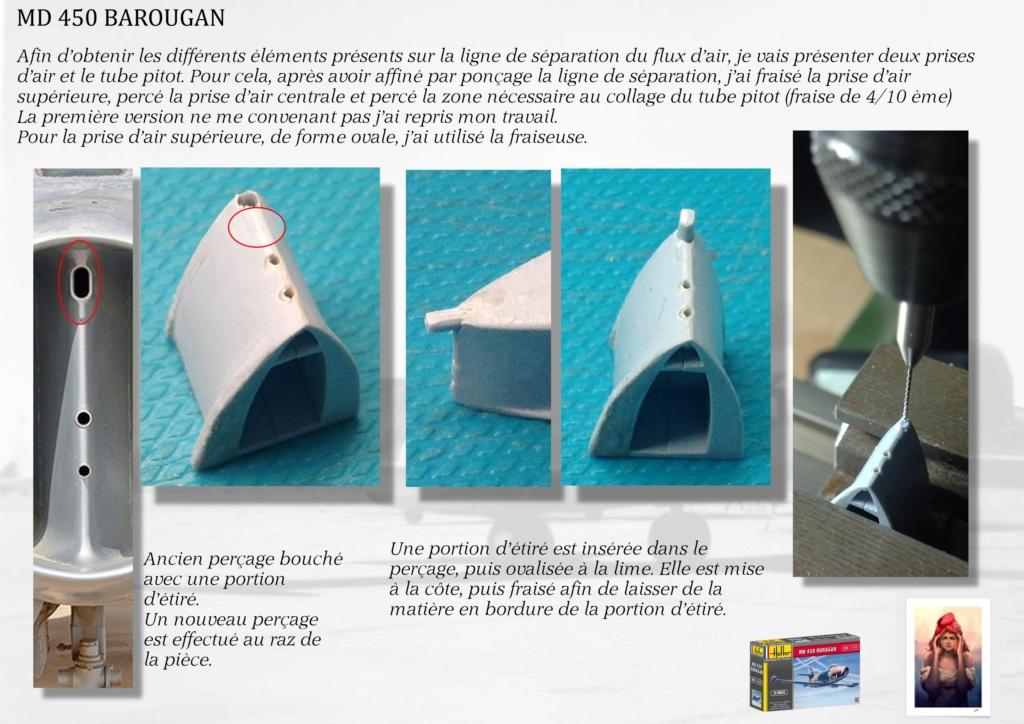 DASSAULT MD450 OURAGAN - CONVERSION BAROUGAN - 1/72  01510
