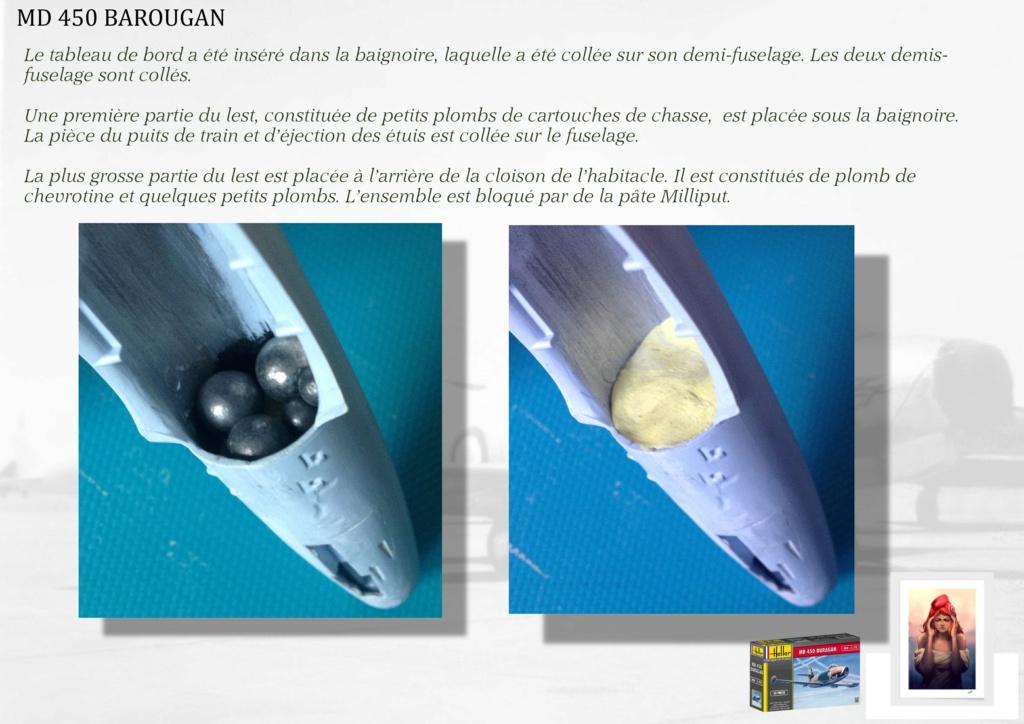 DASSAULT MD450 OURAGAN - CONVERSION BAROUGAN - 1/72  01810
