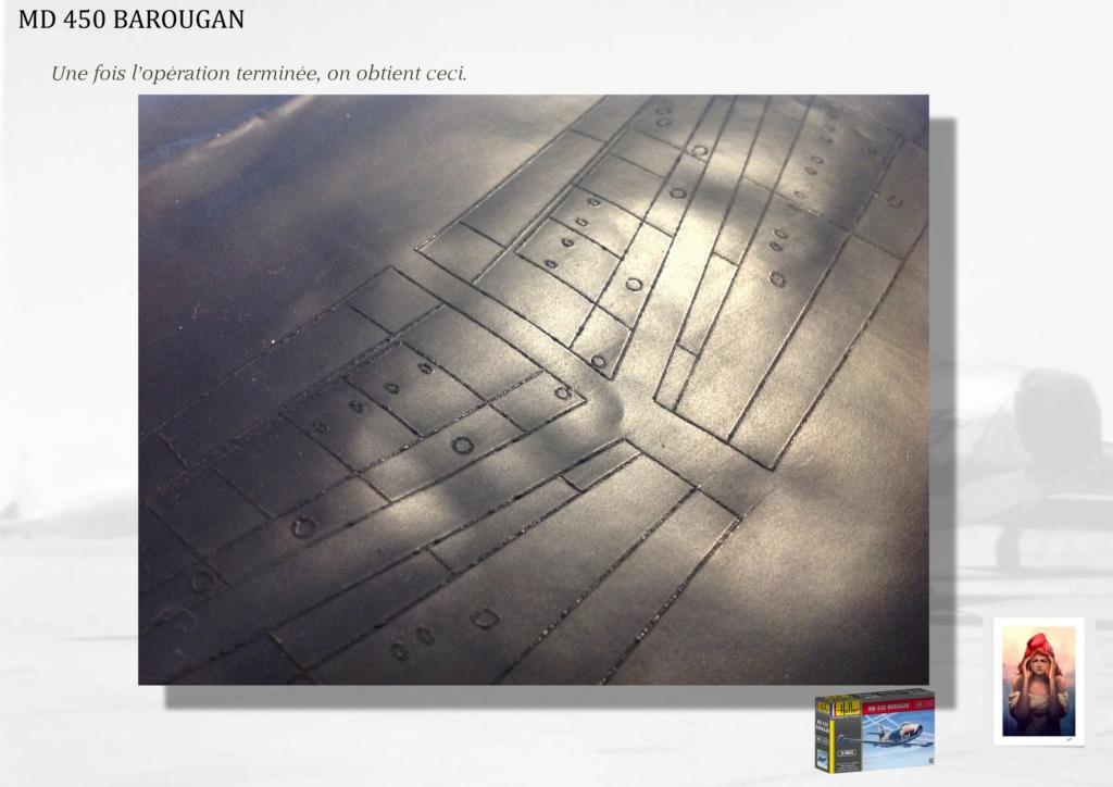 DASSAULT MD450 OURAGAN - CONVERSION BAROUGAN - 1/72  02210