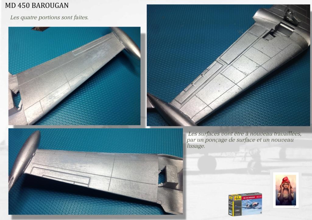 DASSAULT MD450 OURAGAN - CONVERSION BAROUGAN - 1/72  02410
