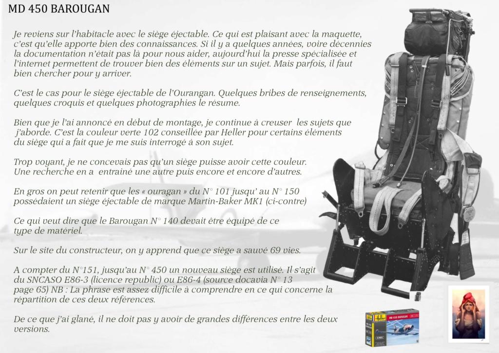 DASSAULT MD450 OURAGAN - CONVERSION BAROUGAN - 1/72  02710