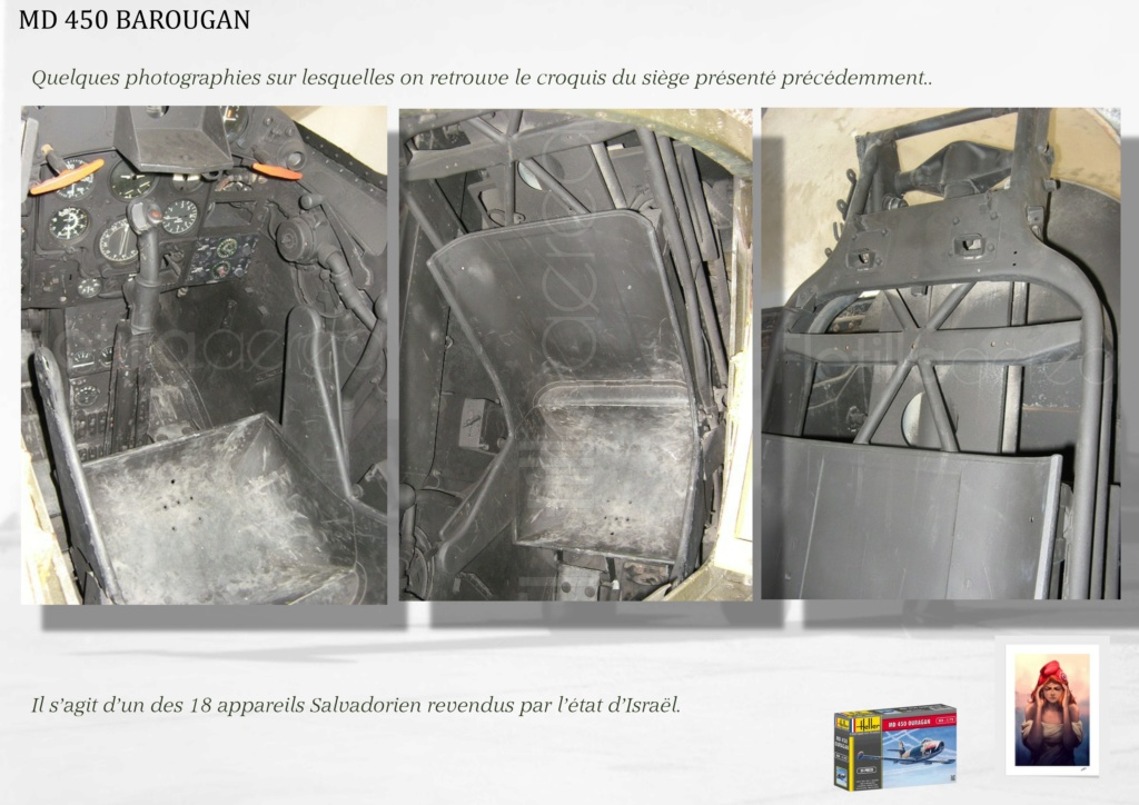 DASSAULT MD450 OURAGAN - CONVERSION BAROUGAN - 1/72  02910