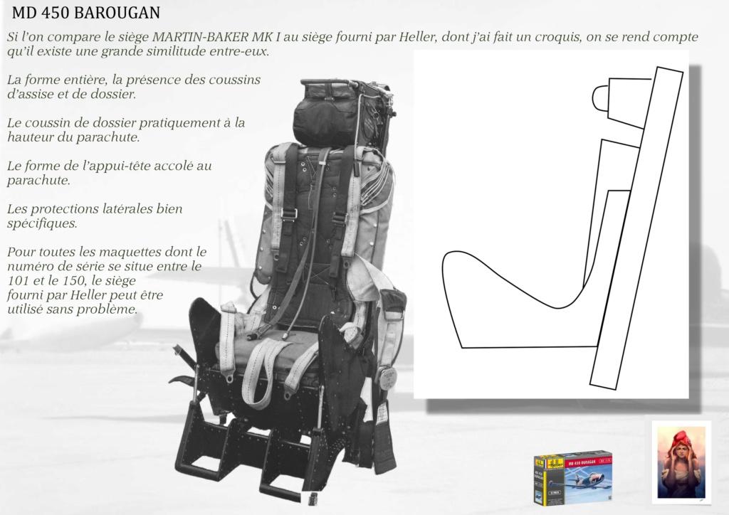DASSAULT MD450 OURAGAN - CONVERSION BAROUGAN - 1/72  03010