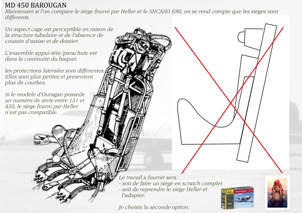 DASSAULT MD450 OURAGAN - CONVERSION BAROUGAN - 1/72  03110