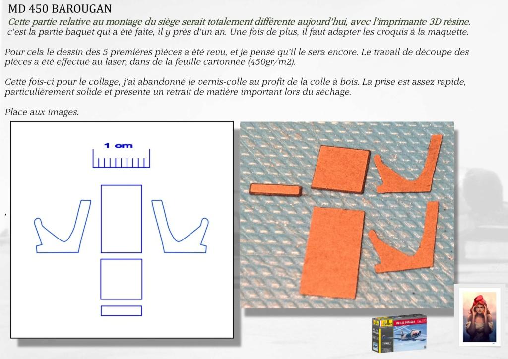 DASSAULT MD450 OURAGAN - CONVERSION BAROUGAN - 1/72  04010