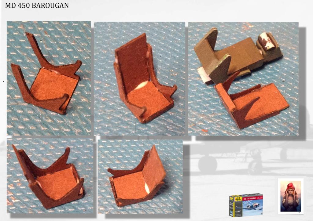 DASSAULT MD450 OURAGAN - CONVERSION BAROUGAN - 1/72  04110