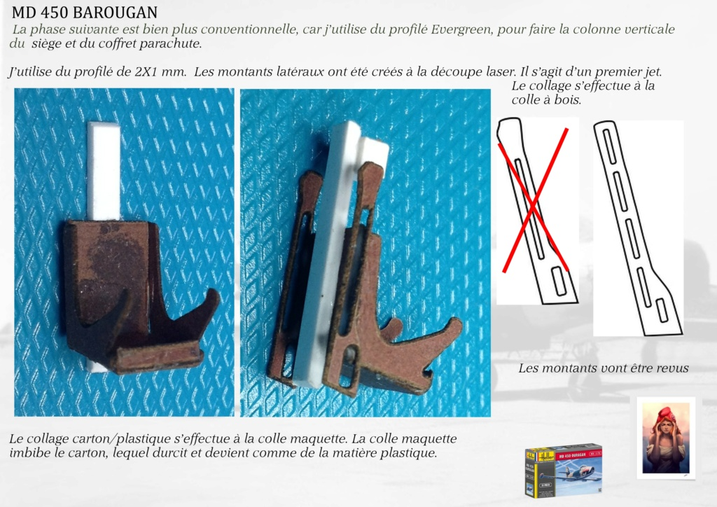 DASSAULT MD450 OURAGAN - CONVERSION BAROUGAN - 1/72  04310