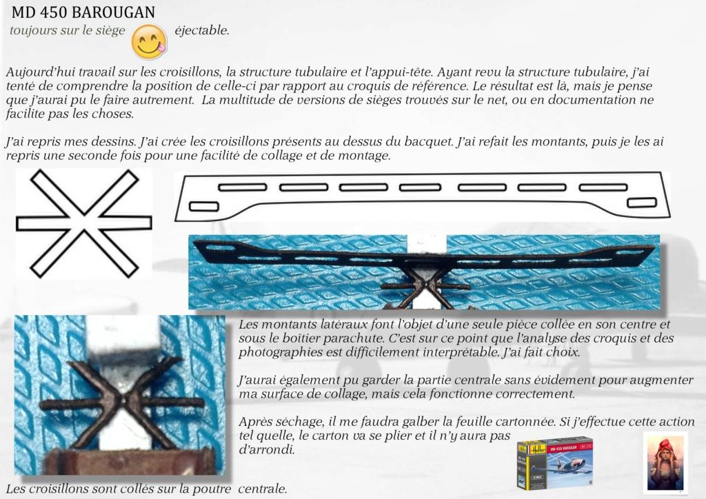 DASSAULT MD450 OURAGAN - CONVERSION BAROUGAN - 1/72  04410