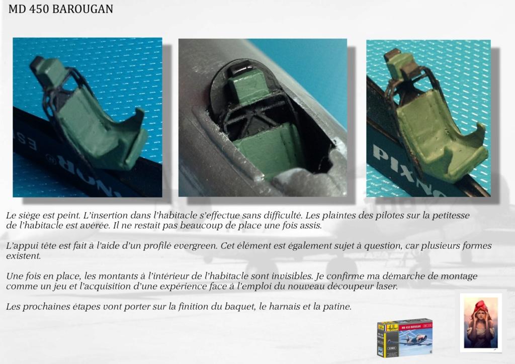 DASSAULT MD450 OURAGAN - CONVERSION BAROUGAN - 1/72  04611