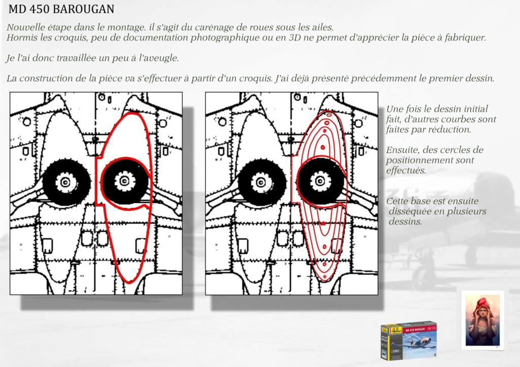 DASSAULT MD450 OURAGAN - CONVERSION BAROUGAN - 1/72  05010