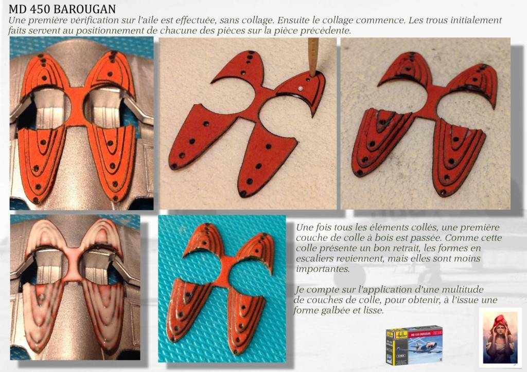 DASSAULT MD450 OURAGAN - CONVERSION BAROUGAN - 1/72  05210
