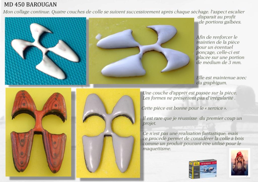 DASSAULT MD450 OURAGAN - CONVERSION BAROUGAN - 1/72  05310